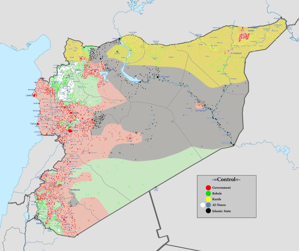 Syrie 8 août 2016